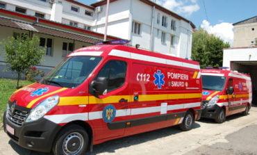 FOTO: ISU Alba are în dotare  două noi ambulanţe SMURD de terapie intensivă - tip C