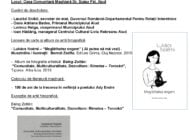 VINERI: Colocviile Culturii Maghiare din Transilvania, la Aiud. Program
