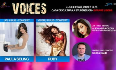 "4-5 IULIE: Festivalul Internațional Concurs ""Voices"", la Alba Iulia"