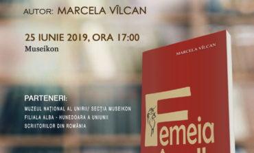 25 iunie: Femeia în alb, cartea de debut a Marcelei Vîlcan va fi lansată la Alba Iulia