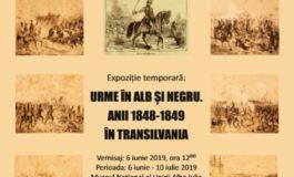 """JOI: Expoziția """"Urme în alb și negru. Anii 1848-1849 în Transilvania"""", la Muzeul Unirii din Alba Iulia"""