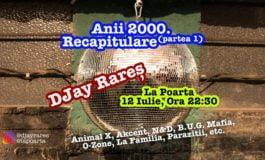 """ASTĂZI: Recapitulare a muzicii anilor 2000, la localul """"La Poartă"""""""