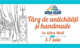 Vineri, 5 iulie: TÂRG DE ANTICHITĂȚI ȘI HANDMADE