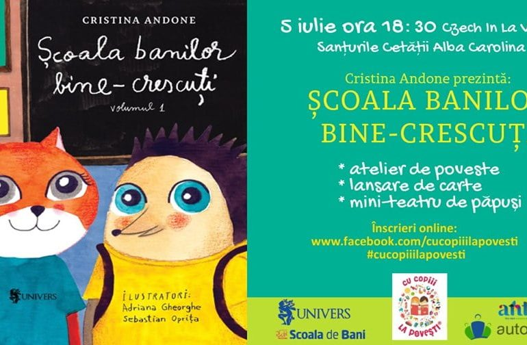 Vineri: Școala banilor bine-crescuți ajunge la Alba Iulia
