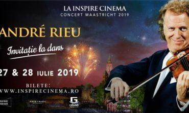 Sâmbătă: André Rieu în proiecție cinematografică inedită la Inspire Cinema Alba Iulia