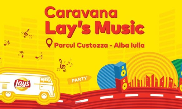 24-25 iulie: Caravana Lay's Music ajunge la Alba Iulia