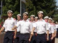 Absolvenţi ai colegiului militar albaiulian, studenţi la Academia Forţelor Aeriene