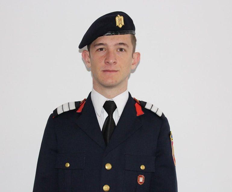 Nicolae Bodea, șeful promoției 2019 a Colegiului Militar din Alba Iulia își dorește să devină pilot de aviație
