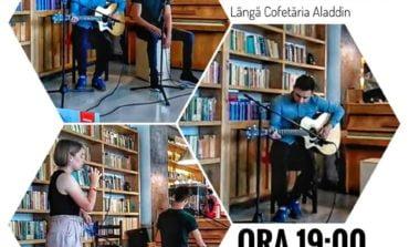 """Seară muzicală la Cafeneaua """"Flori de mac"""" din Alba Iulia. Momente de calitate în scop caritabil"""