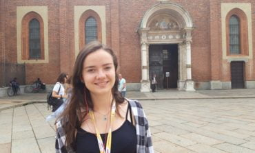 """FOTO: Experienţe culturale pe meleaguri italiene pentru doi elevi ai Colegiului Național Militar """"Mihai Viteazul"""" din Alba Iulia"""