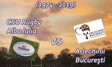 Sâmbătă: Rugby-ul se întoarce în Alba Iulia, pe Stadionul Unirea