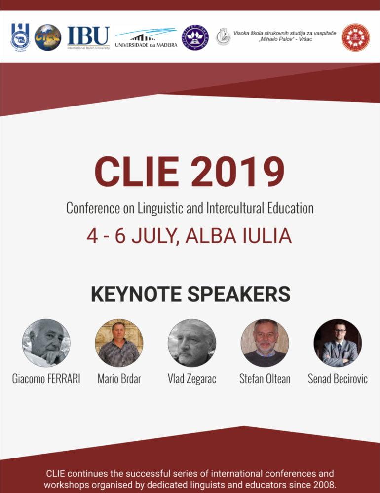 4-7 iulie: Conferința internațională CLIE-2019 pe tema educației lingvistice și interculturale, la UAB