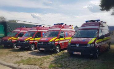 FOTO: Patru noi autospeciale SMURD tip B, în dotare la ISU Alba