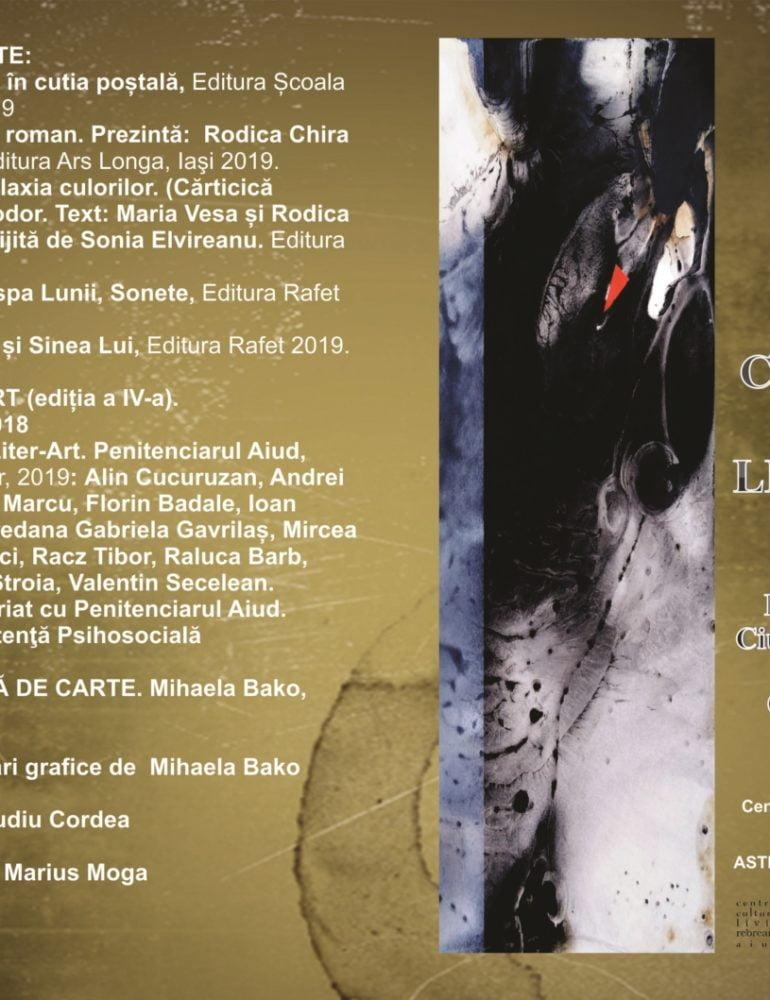 Sâmbătă: Colocviile de literatură și arte, ediția a XXVI-a, la Aiud. Lansări de carte, traduceri literare şi recitaluri
