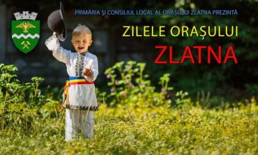 3-4 august: Zilele Orașului Zlatna. Parada portului popular, spectacol folcloric și de muzică ușoară