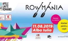 """11 august: PROGRAMUL competiției """"Descoperă RoWmania"""" Alba Iulia"""