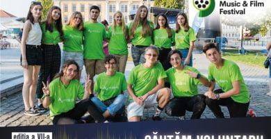 Se caută voluntari pentru Alba Iulia Music & Film Festival. Detalii despre înscriere