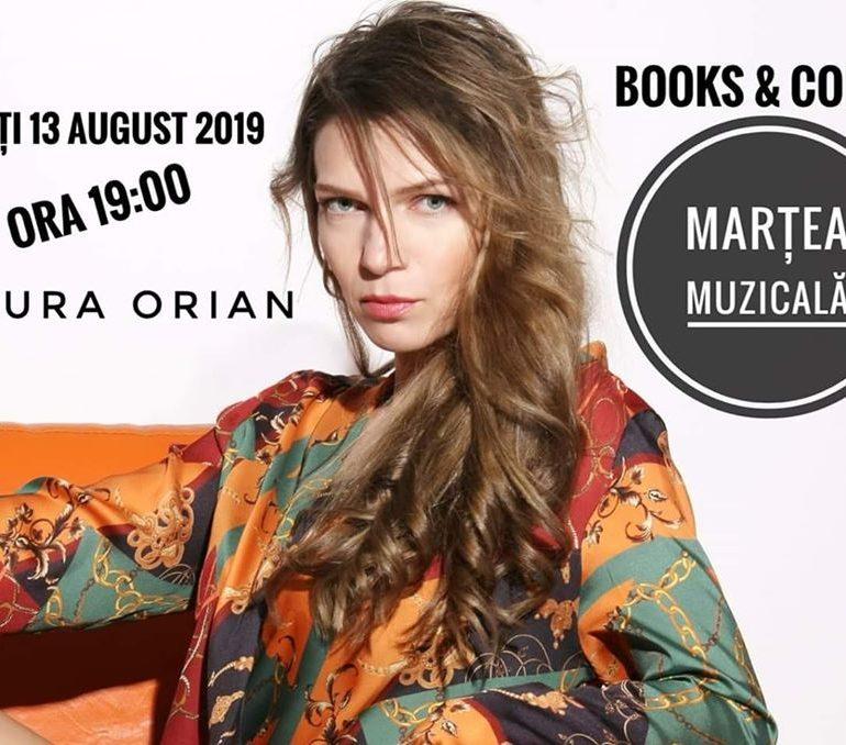 13 august: Marțea muzicală la Flori de Mac Books & Coffee. Jazz cu Laura Orian