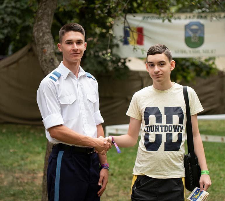 FOTO: Promovarea învățământul militar la UNTOLD