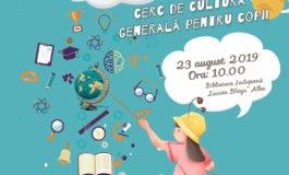 Vineri: Coșulețul copiilor deștepți, proiect de cultură general pentru copii