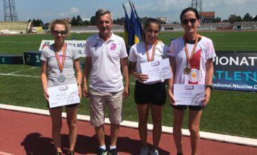 FOTO: CS Unirea Alba Iulia – patru medalii, dintre care două de aur, la Campionatul Național de Marș. Rezultat excelent pentru atleta Ana Rodean