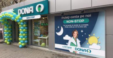 Program non-stop pe 15 august pentru 16 farmacii din rețeaua DONA