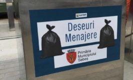 FOTO: 14 noi platforme subterane pentru colectarea deșeurilor vor fi realizate în Sebeș