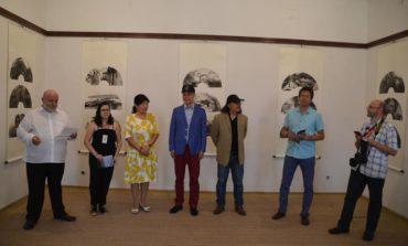 FOTO: Expoziție de artă chineză semnată de Fan Hongbin şi Zou Ming, la Muzeul Naţional al Unirii Alba Iulia