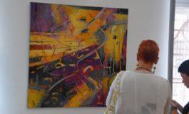 """FOTO: """"Din labirint. Secvenţe subiective"""", expoziție eveniment semnată de Rodica Strugaru, la Muzeul Unirii din Alba Iulia"""