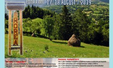 În weekend: TÂRGUL LEMNARILOR din Munții Apuseni, la Horea. PROGRAM