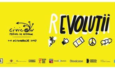 """(4-6 octombrie) CivicON: (r)evoluții - ediția a III-a a festivalului de atitudine organizat de Asociația """"Forum Apulum"""" la Alba Iulia"""