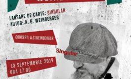 """Vineri: A.G. Weinberger și cartea sa Singular, la Biblioteca Județeană """"Lucian Blaga"""" Alba"""