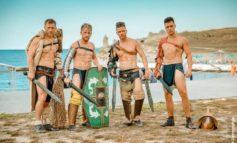FOTO: Gladiatorii Ludusului Apulensis au participat la Festivalul Militar-istoric din Crimeea