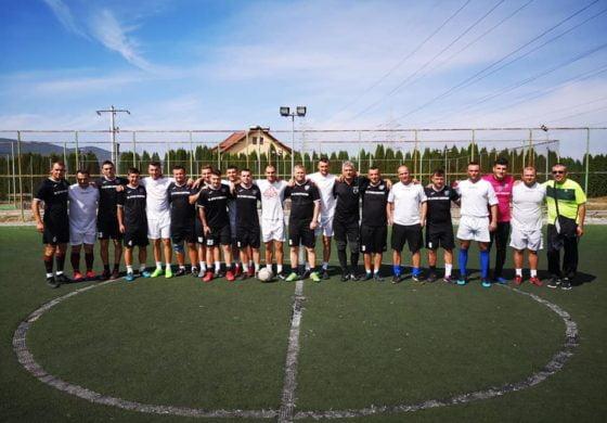 """FOTO: Competiția sportivă """"Cupa 13 septembrie la minifotbal"""", organizată cu ocazia Zilei Pompierilor din România"""