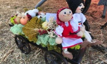 FOTO: Bogăţiile toamnei pe standurile producătorilor din Alba, la Târgul Apulum Agraria