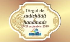 27-29 septembrie: Târg de antichități și handmade, la Alba Mall