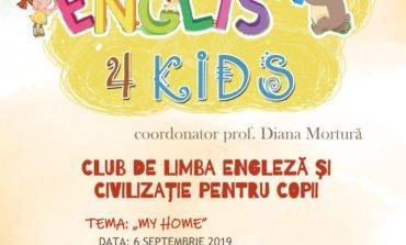 """Proiectul English 4 Kids merge mai departe la Biblioteca Județeană """"Lucian Blaga"""" Alba"""