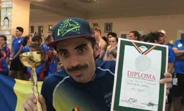 FOTO: Sportivul CS Unirea Alba Iulia, Ionuț Alin Zincă, a dominat Campionatele Sud-Est Europene de Orientare