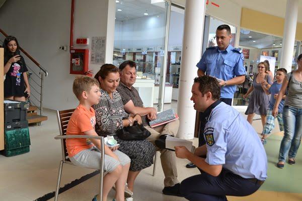 FOTO: #10 Pentru Siguranță. În ultima zi de vacanță, părinții și elevii au participat la lecția siguranței