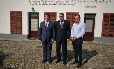 FOTO: Ambasadorul Slovaciei, în vizită la Sebeș