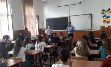 FOTO: #10 Pentru Siguranță. Elevii din 12 unități de învățământ au participat, până acum, la lecția siguranței