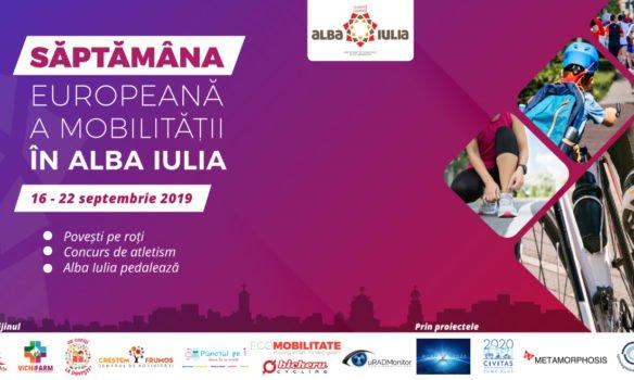 În Săptămâna Europeană a Mobilității, Albă Iulia face un miliard de pași înainte. 7 zile, 7 acțiuni dedicate ideii de mobilitate