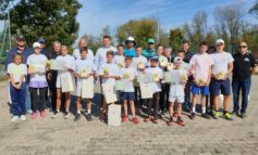 """FOTO: Câștigătorii cupei """"Műhlbach"""" la tenis de câmp, ediția a XV-a, desfășurată la Sebeș"""