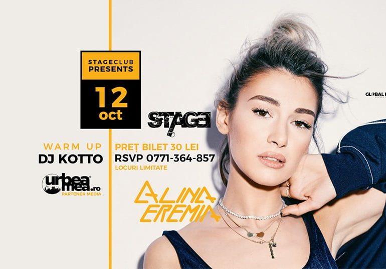 Sâmbătă: Alina Eremia vă așteaptă cu un super concert în Club Stage