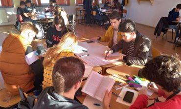 FOTO: Activități dedicate Zilei Educației la Colegiul Economic din Alba Iulia