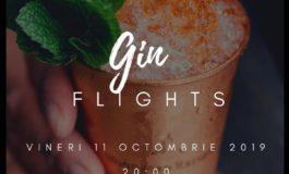 11 octombrie: Gin Flights la SOMN Tapas&Winebar