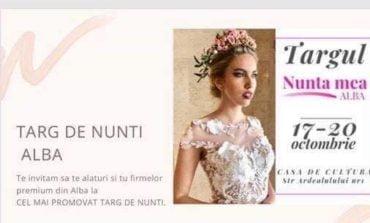 """17-20 octombrie: Târgul de nunți """"Nunta mea"""", la Casa de Cultură a Sindicatelor din Alba Iulia"""