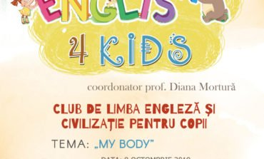 Miercuri: English 4 Kids, o nouă ediție