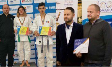 FOTO: CS Unirea Alba Iulia – aur și argint la Concursul Național de Judo Ne Waza