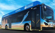 FOTO: Cu 16 autobuze electrice, 28 de stații pentru călători și alte investiții ultramoderne, la Aiud se va dezvolta transportul ecologic